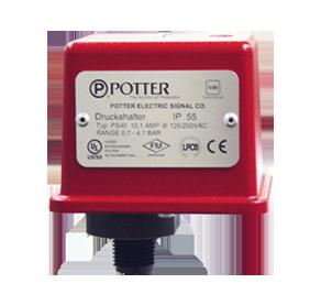 Сигнализатор давления Potter PS10-2