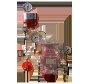 Обвязка клапана DPV-1