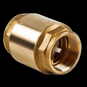 Обратный клапан осевой латунный CA1103 Tecofi