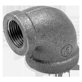 Угольник чугунный переходной резьбовой оцинкованный ВР/ВР ГОСТ 8946-75